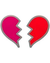 Yazbukey - Broken Heart Brooch - Lyst