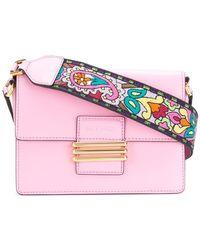 Etro - Paisley Strap Shoulder Bag - Lyst