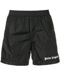Palm Angels - Logo Swimming Shorts - Lyst