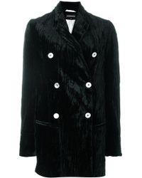 Ann Demeulemeester   Tailored Pleated Coat   Lyst