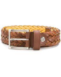 Moreschi - Woven Belt - Lyst