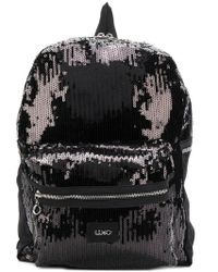 Liu Jo - Sequin Embellished Backpack - Lyst