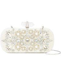 Marchesa - Embellished Clutch Bag - Lyst