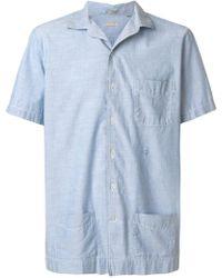 Massimo Alba - Plain Shortsleeved Shirt - Lyst