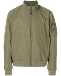 Hackett - Fitted Bomber Jacket - Lyst