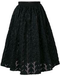 Lardini   Brocade Full Skirt   Lyst