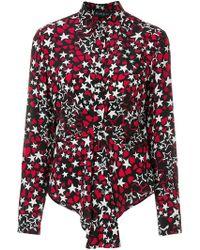 Rossella Jardini - Star And Heart Printed Shirt - Lyst