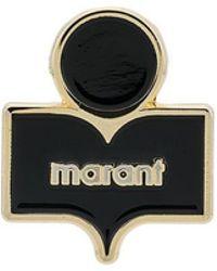 Isabel Marant - Logo Enamel Pin - Lyst
