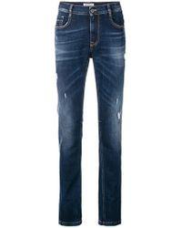 Dirk Bikkembergs - Distressed Jeans - Lyst