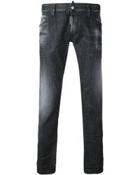 DSquared² - Washed Slim Jeans - Lyst