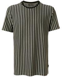 Calvin Klein Jeans - Striped T-shirt - Lyst