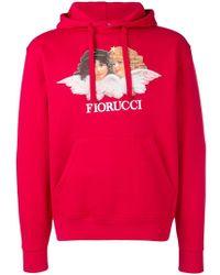 Fiorucci - Logo Patch Hoodie - Lyst