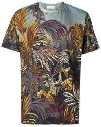 Etro - T-shirt à imprimé botanique - Lyst