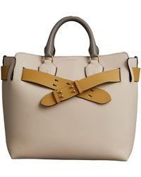 Burberry - The Medium Tri-tone Leather Belt Bag - Lyst