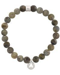 Northskull - Labradorite Insignia Charm Bracelet - Lyst