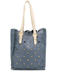 Boutique Moschino - Perforated Shoulder Bag - Lyst
