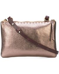 Henry Beguelin - Metallic Crossbody Bag - Lyst