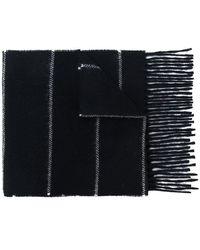 AMI - Striped Scarf - Lyst