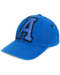 AMI - Baseball Cap With A Patch - Lyst