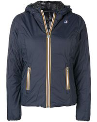 K-Way - Zipped Padded Jacket - Lyst