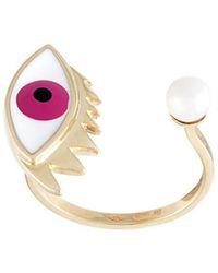 Delfina Delettrez | 'eye Piercing' Ring | Lyst
