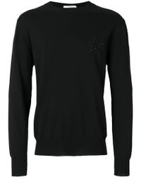 Givenchy - Embroidered Star Jumper - Lyst
