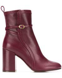L'Autre Chose - Buckle Detail Ankle Boots - Lyst