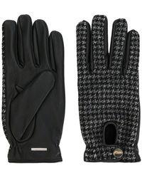 Lardini - Woven Fitted Gloves - Lyst