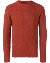 Dell'Oglio - Slim-fitted Sweater - Lyst