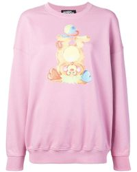 Jeremy Scott - Bear Print Sweatshirt - Lyst