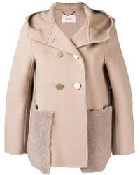 Dorothee Schumacher - Hooded Coat - Lyst