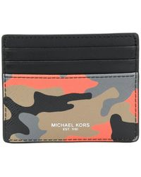 Michael Kors - Harrison Camouflage-print Card Case - Lyst