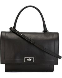 Givenchy - Small Shark Leather Tote - Lyst