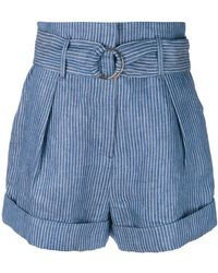 Mara Hoffman - Belted Shorts - Lyst