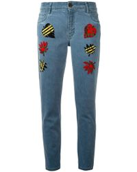 Mr & Mrs Italy | Multi Patch Jeans | Lyst