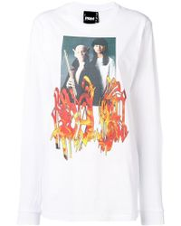 P.a.m. Perks And Mini - Printed Long Sleeved T-shirt - Lyst