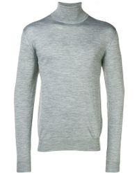 Eleventy - Turtleneck Fitted Jumper - Lyst