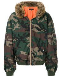 Yeezy - Season 5 Hooded Bomber Jacket - Lyst