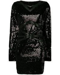 Philipp Plein - Sequinned Mini Dress - Lyst