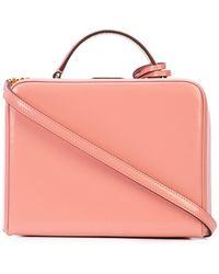 Mark Cross - Straw Box Bag - Lyst
