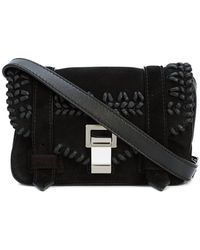 6620209528 Lyst - Saint Laurent Monogram Baby Chain Serpent Crochet Crossbody ...