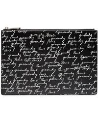 Givenchy - Signature Print Clutch - Lyst