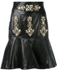 Stefano De Lellis - Embellished Skirt - Lyst