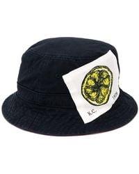 Kent & Curwen - Logo Patch Bucket Hat - Lyst