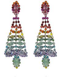 DANNIJO - Lala Rainbow Chandelier Earrings - Lyst
