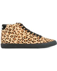 Hysteric Glamour - Leopard Print Sneakers - Lyst