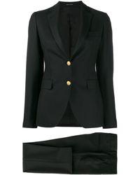 Tagliatore - Plain Trouser Suit - Lyst