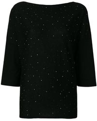 Snobby Sheep - Speckled Knitted Top - Lyst