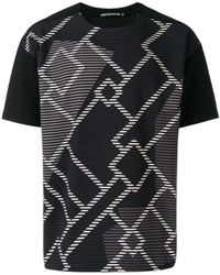 Issey Miyake - Printed Shortsleeved T-shirt - Lyst