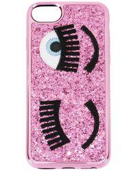 Chiara Ferragni - Glitter Cover Iphone 8 - Lyst